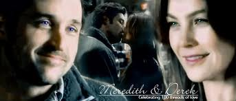 Grey's Anatomy Couples Hintergrund with a portrait titled Meredith and Derek 303