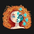 Merida - merida fan art
