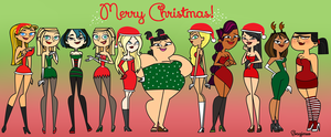 Merry natal - Total Drama!