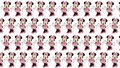 Minnie muis pattern