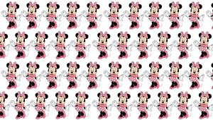 Minnie topo, mouse pattern
