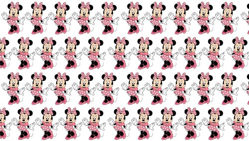 Disney kertas dinding entitled Minnie tetikus pattern