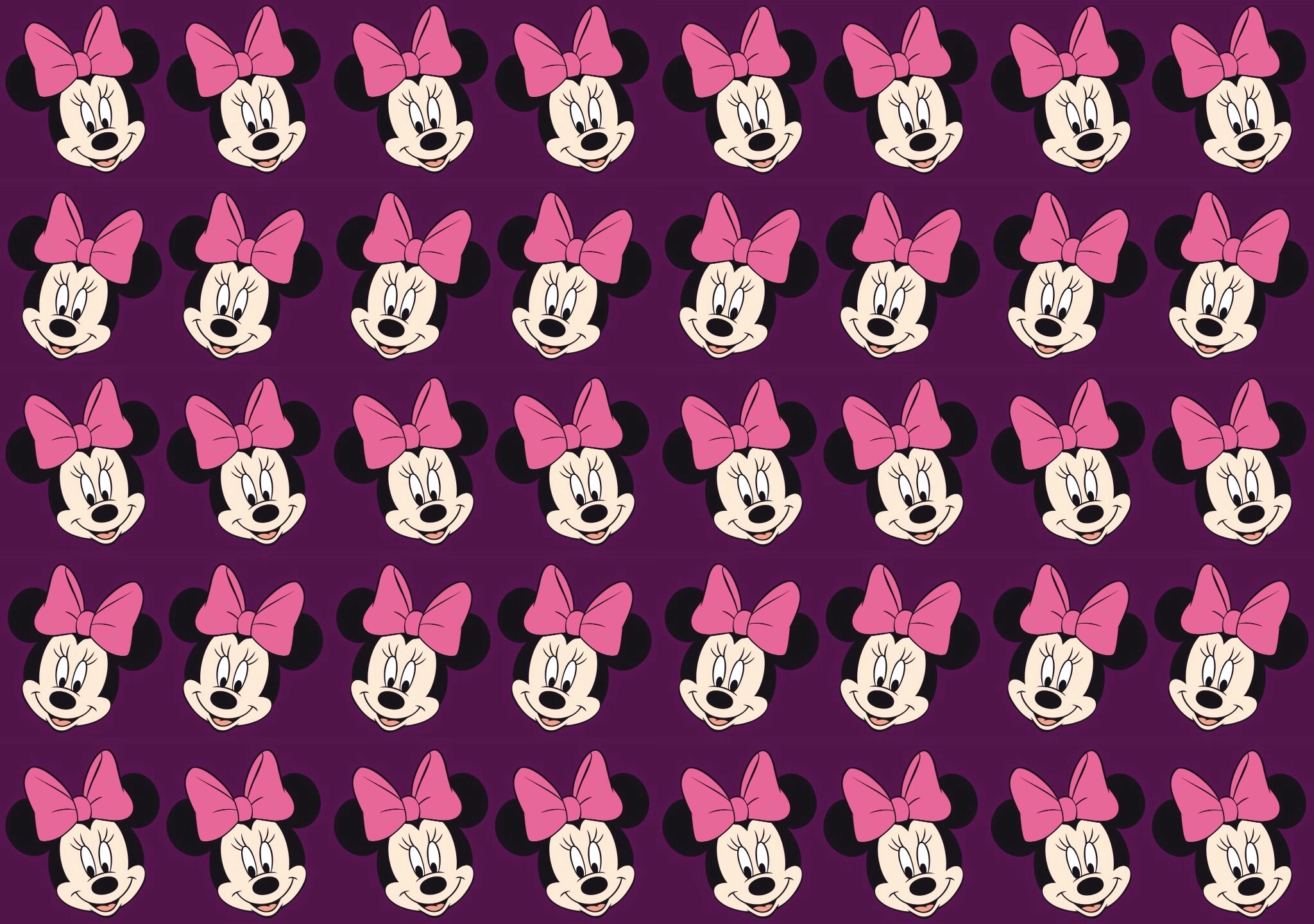 Minnie Mouse wallpaper - Patterns