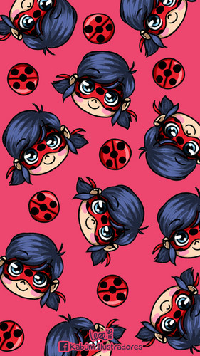 Miraculous Ladybug Hintergrund called Miraculous Ladybug Phone Hintergrund