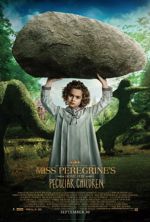 Miss Peregrine's 首页 for Peculiar Children - Bronwyn Poster
