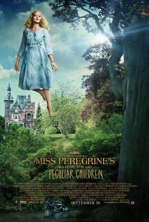 Miss Peregrine's utama for Peculiar Children - Emma Bloom Poster