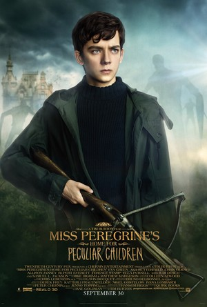 Miss Peregrine's accueil for Peculiar Children - Jacob Portman Poster
