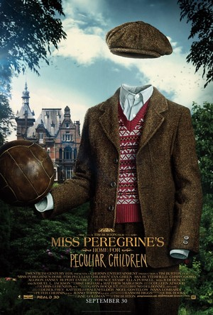Miss Peregrine's accueil for Peculiar Children - Millard Poster