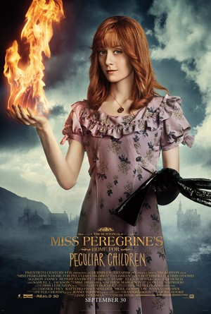 Miss Peregrine's utama for Peculiar Children - zaitun Poster