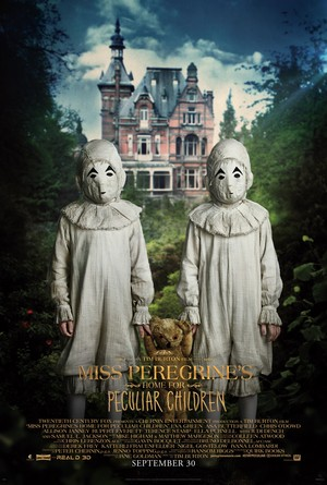 Miss Peregrine's 首页 for Peculiar Children - The Twins Poster