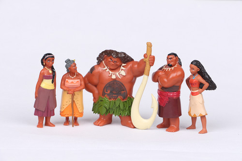Disney's Moana Hintergrund titled Moana Figurine set