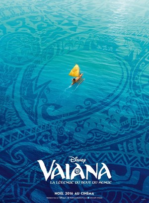 Moana French Poster