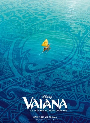 Moana  (Vaiana) French Poster