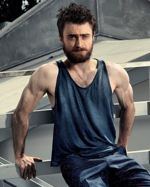 Modern Luxury Photoshoot of Daniel Radcliffe, by Warwick Saint. (Fb.com/DanielJacobRadcliffeFanClub)