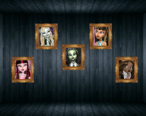 Monster High Art Gallery