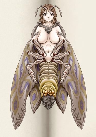 papillon de nuit Girl