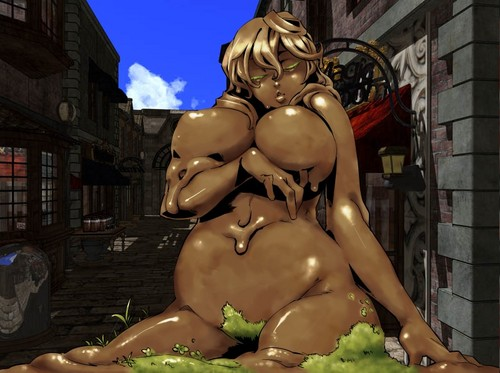 Monster Girl Quest 바탕화면 titled Mud Golem Girl
