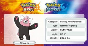 NEW RED PANDA POKEMON! Bewear