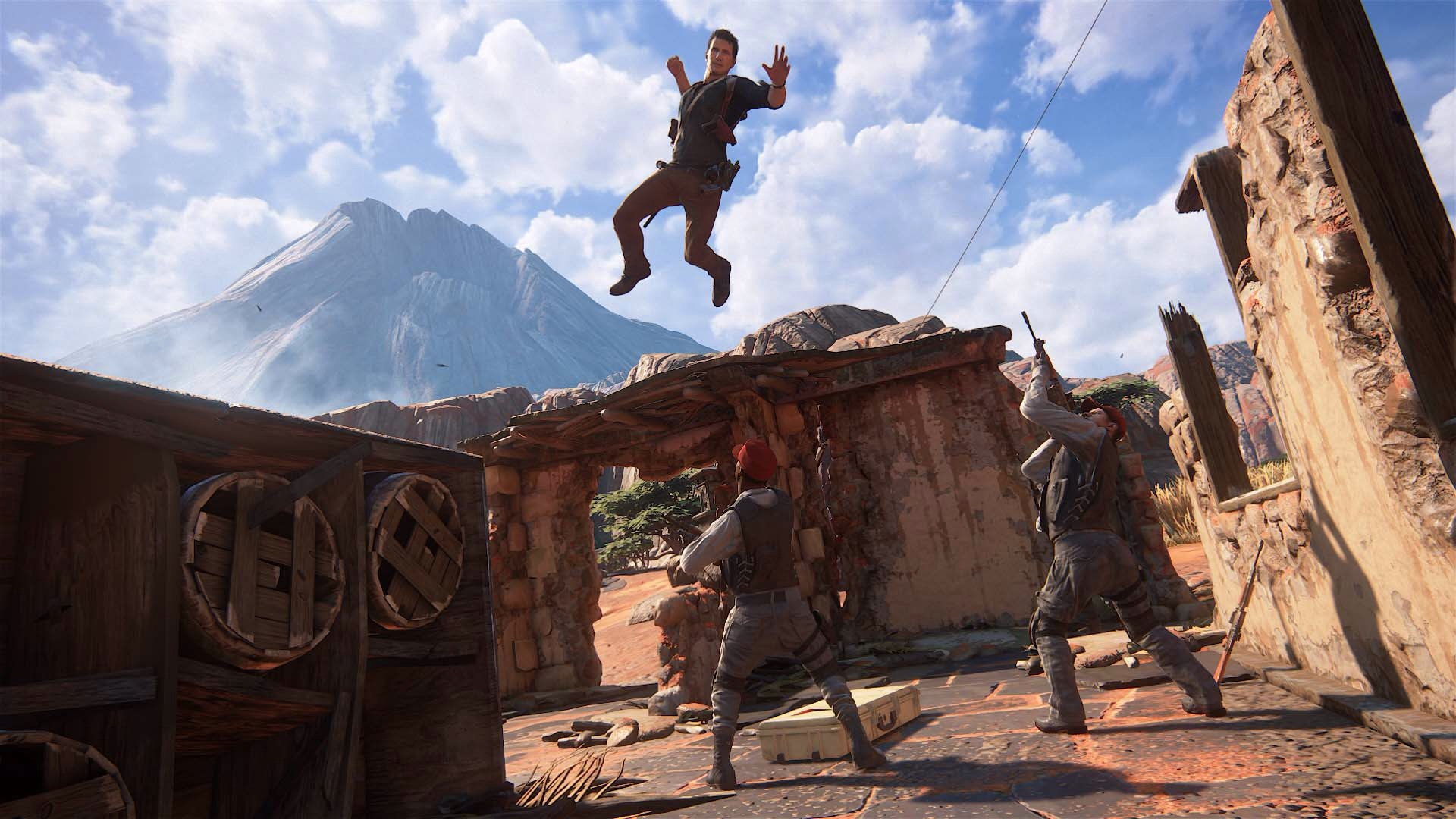 Uncharted 4 A Thief S End Images Nathan Drake Hd Wallpaper And