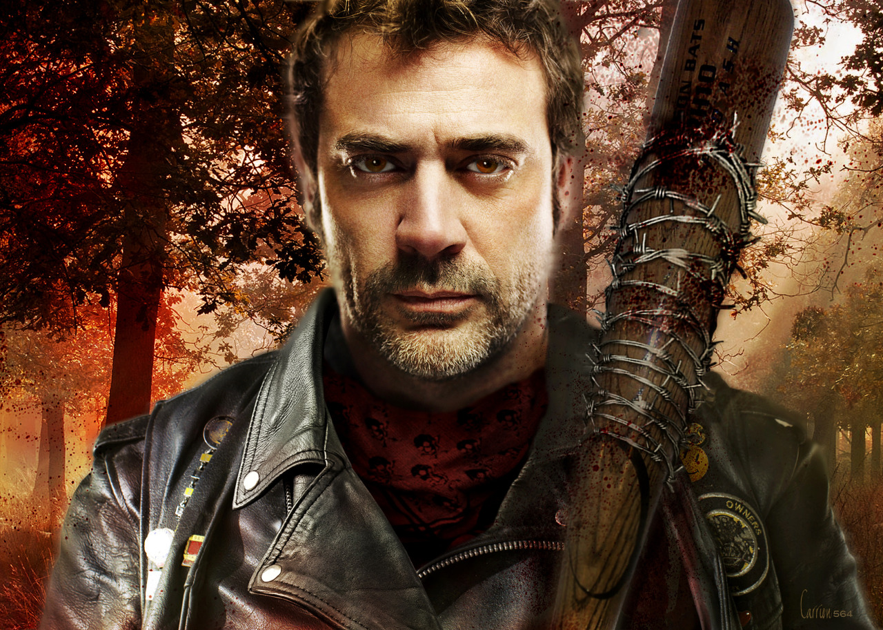 the walking dead wallpaper negan