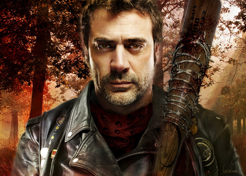 Walking Dead fond d'écran called Negan