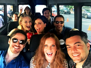 OUAT cast at Comic Con 2016