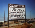 Old Movie Theater sign - the-70s photo