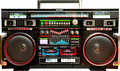 Old school ghetto blaster