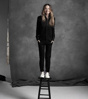 Olivia Wilde ~ La Ligne Portrait Series