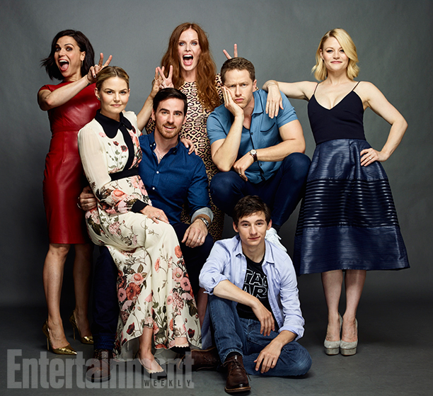 Once Upon A Time Cast @ Comic-Con 2016