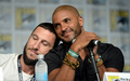 Pablo Schreiber and Ricky Whittle at the American Gods Panel