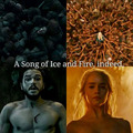 Parallels between Jon Snow and Daenerys - game-of-thrones fan art