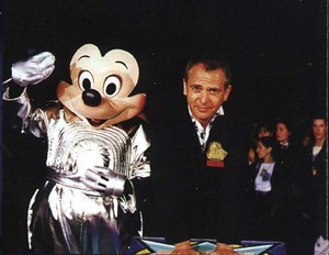 Peter and Mickey