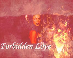 Phoebe/Cole karatasi la kupamba ukuta - Forbidden upendo