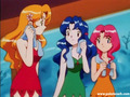 Pokemon Misty's sisters: Daisy, Violet and Lily