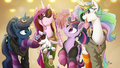 Ponies - my-little-pony-friendship-is-magic fan art
