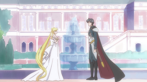 Princess Serenity and Prince Endymino