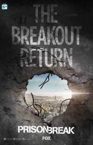Prison Break - Season 5 - Comic-Con Promotional Poster