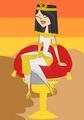 Queen of the Nile - total-drama-island fan art