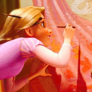 Rapunzel Painting