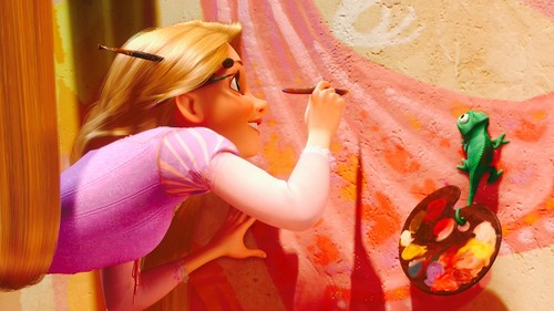 tangled images rapunzel painting hd wallpaper and
