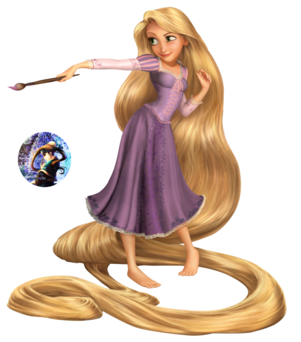 Childhood Animated Movie Characters Обои titled Rapunzel