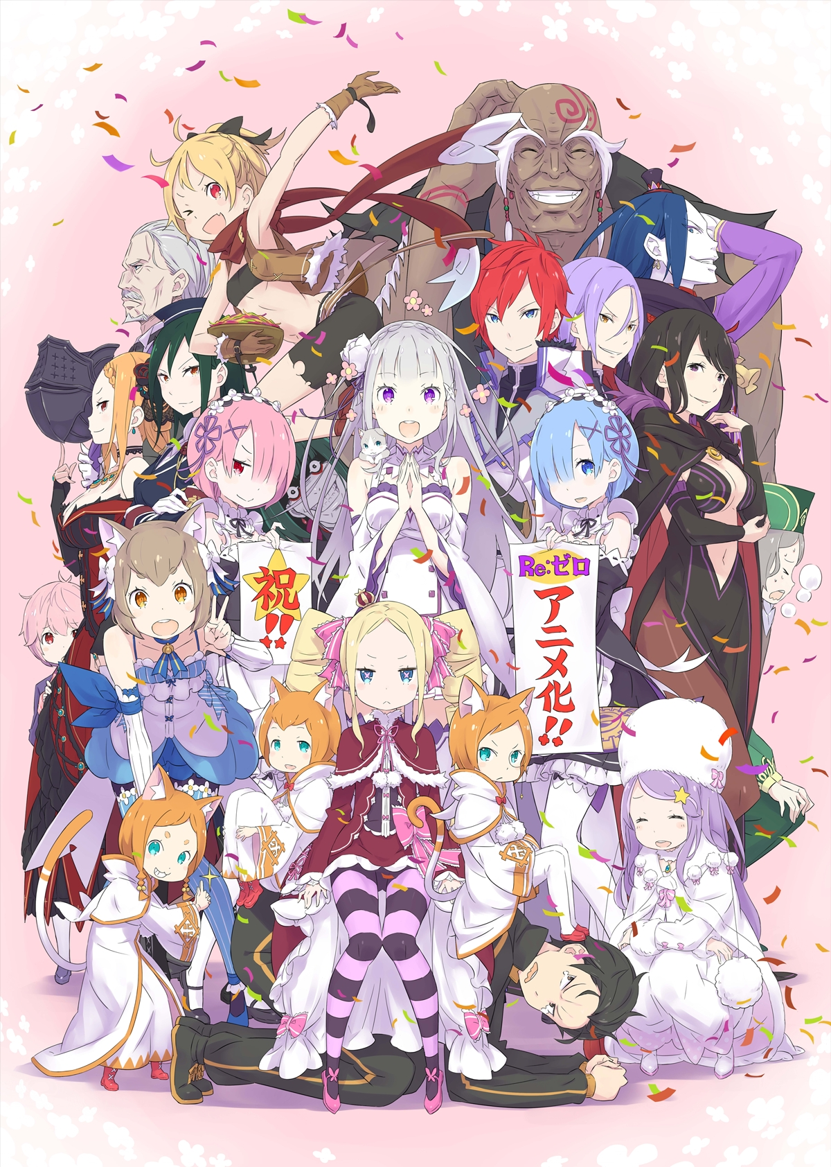 Re Zero Images Re Zero Characters Hd Fond D 233 Cran And