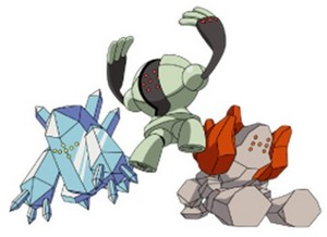 Regice, Registeel and Regirock