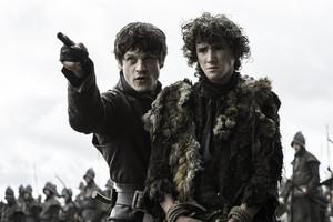 Rickon Stark and Ramsay Bolton