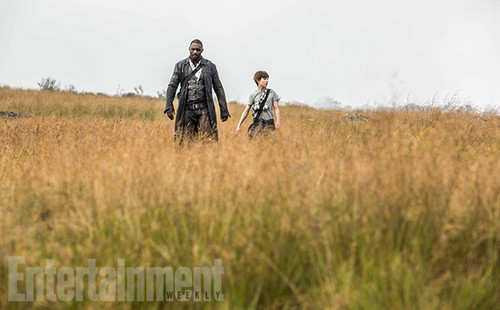 The Dark Tower 壁纸 possibly with a 步枪兵, 步枪手 entitled Roland Deschain and Jake Chambers