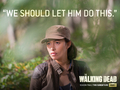 the-walking-dead - Rosita wallpaper