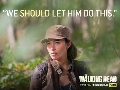 The Walking dead wallpaper called Rosita