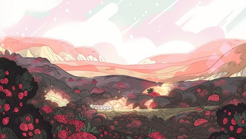 steven universe fondo de pantalla possibly containing a triceratops entitled SU Backgrouds