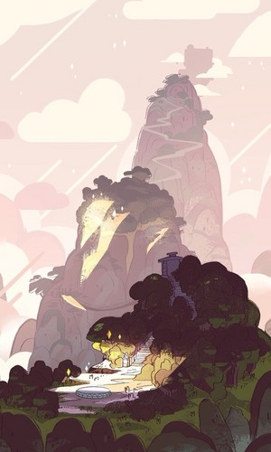 steven universe fondo de pantalla probably containing a red cabbage called SU Backgrouds